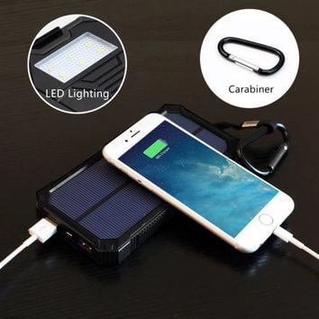 X-DRAGON 15000mAh Portable Solar Charger Power Bank for iPhone, iPad, Android Phones and Tablets, Gopro Camera and Other 5V USB devices - Walmart.com