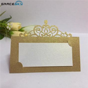 Place Seat Paper Wedding Invitation Table Cards