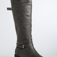 Multi Strap Gore Tall Boots (Wide Width)