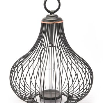 Light Lantern Md Black