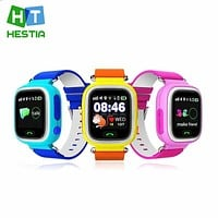 GPS Q90 Smart Watch Touch Clocks WIFI Location Children Baby SOS Call Finder Track gps Kid Safe Anti-Lost Monitor Device PK Q50