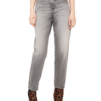 Saint Laurent Baggy Jeans in Dirty Light Grey | FWRD