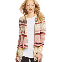 RD Style Tribal Cardigan - Pink