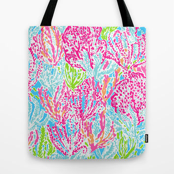 Lets Cha-Cha Tote Bag by uramarinka | Society6