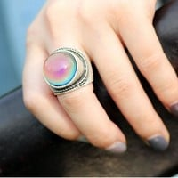 Bohemian Rope Mood Ring
