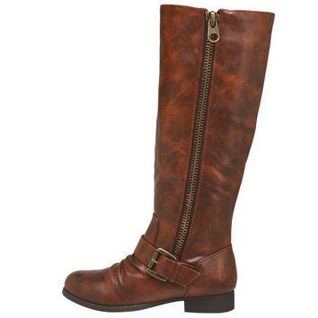 Womens - Brash - Zippy Riding Boot - Payless Shoes