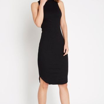 Riviting Ribbed Bodycon Dress