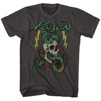 POISON-COLORED TATTOOMOKE ADULT S/S TSHIRT