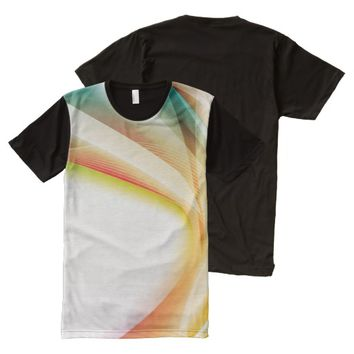 Abstract 2 All-Over print t-shirt