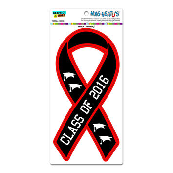 Class Of 2016 Ribbon Awareness - Graduation MAG-NEATO'S TM Car-Refrigerator Magnet