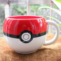Pokemon Ball Ceramic Coffee Mug
