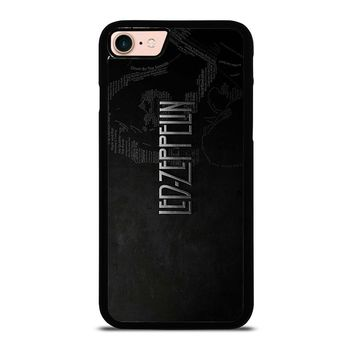 LED ZEPPELIN LYRIC iPhone 8 Case Cover