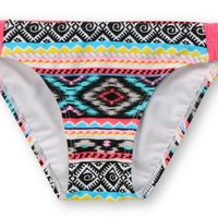 Malibu Dream Head Games Tribal Shirr-Side Hipster Bikini Bottom at Zumiez : PDP