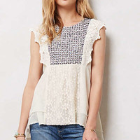 Anthropologie - Stitched Anthea Top
