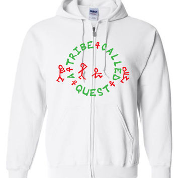 A Tribe Called Quest Gildan Zip Hoodie T-Shirt