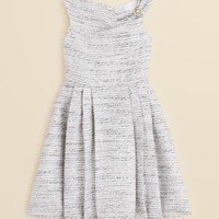 ABS Girls by Allen Schwartz Girls' Metallic Tweed Dress - Sizes 7-16 | Bloomingdales's