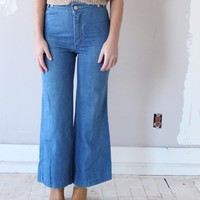 VINTAGE 70S HIGH WAIST FLARE JEANS
