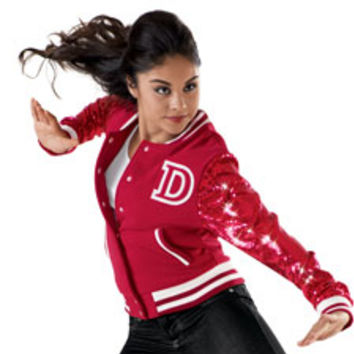 Sequin Varsity Dance Jacket | Dancewear Solutions