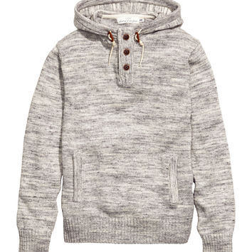 H&M - Hooded Knit Sweater