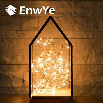 LMFUNT EnwYe 10m 100 Led usb 5V Christmas Lights Indoor String Copper Wire Fairy Lights for Festival Wedding Party Home Decoration Lamp