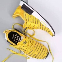 Adidas fashion casual shoes NMD Yellow H 8-3