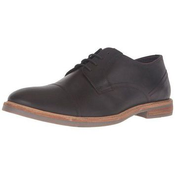 ESBGQ9 Ben Sherman - Luke Cap Toe Distressed Mens Shoe