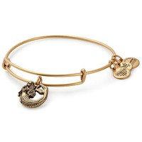 Alex and Ani Mermaid Bangle Bracelet - Rafaelian Gold Finish