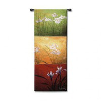 Fine Art Tapestries Karma - Li-Leger, Don - 3615-WH - Tapestries - Wall Art & Coverings - Decor