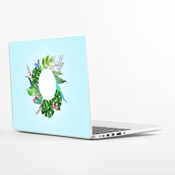 Floral Wreath Laptop Skin