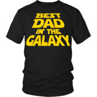 Star Wars - Best Dad In The Galaxy - Fathers Day T-Shirt