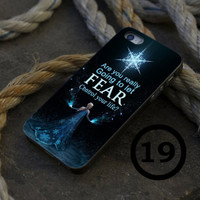 Elsa Frozen Quote - iPhone 4/4s, iPhone 5/5S, iPhone 5C and Samsung Galaxy S3/S4 Case.