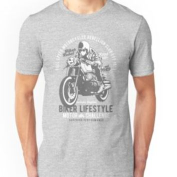'BIKER LIFESTYLE - Motorcycle Club' T-Shirt by Super3