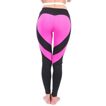 Love Struck Leggings- Pink