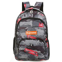 Supreme Fashion Casual Simple School Backpack Travel Bag