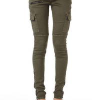 Spoon Zipper Cargo Pant