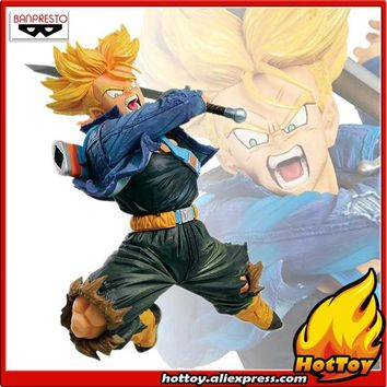 "Original Banpresto WORLD FIGURE COLOSSEUM Tenkaichi Budoukai BWFC vol.2 Collection Figure - Super Saiyan Trunks ""Dragon Ball Z"""