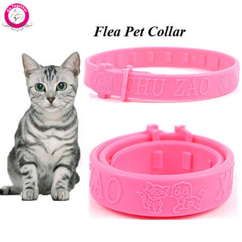 Adjustable Soft Silicon Cat Collar