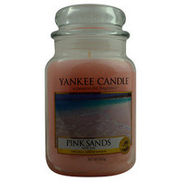 YANKEE CANDLE PINK SANDS SCENTED LARGE JAR 22 OZ UNISEX