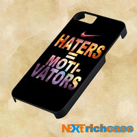 Nike Haters Motivation Custom For iPhone, iPod, iPad and Samsung Galaxy Case