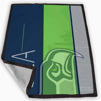 Seattle Seahawks Blanket for Kids Blanket, Fleece Blanket Cute and Awesome Blanket for your bedding, Blanket fleece *
