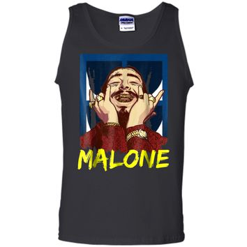 Vintage Rapper Post Leave Me Malone  - Malone Costume Tank Top