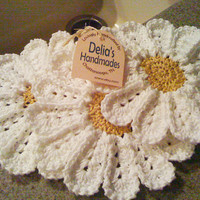 Dish Daisies by DeliasHandmade on Etsy