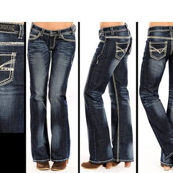 Rock and Roll Cowgirl Women's Riding Jeans