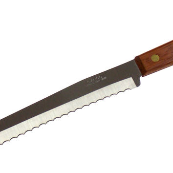 "Capco 13"" Roast Beef Ham Slicing Knife Wood Restaurant Quality Stainless Steel"