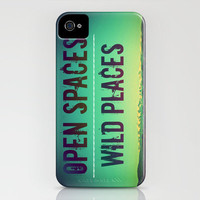 Open Spaces Wild Places iPhone Case by Melanie Ann | Society6