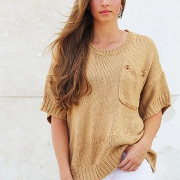 Caramel Cream Knit