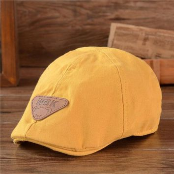 DCCKL3Z children cotton Beret unisex bonnet  hat baby fashion warm caps boy girl cap kids baseball cap baby boy sun hat