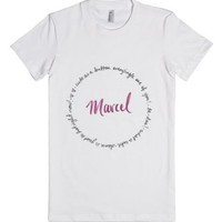 Marcel-Female White T-Shirt