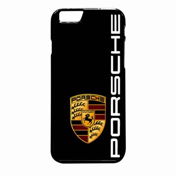 Porsche Logo Black iPhone 6 Plus case