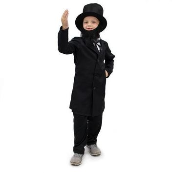 Honest Abe Lincoln Children's Costume, 3-4